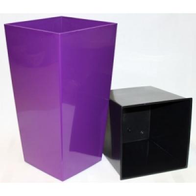 Горшок Финезия фиолетовый