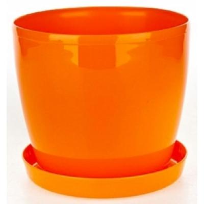 Горшок Магнолия оранжевый