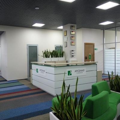 Озеленение  СК Арсенал Страхование